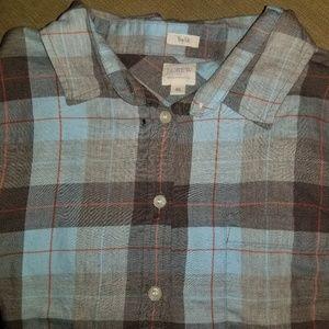 J. Crew Factory Flannel Shirt